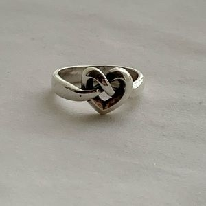 "JAMES AVERY ""Heart Knot"" Ring"